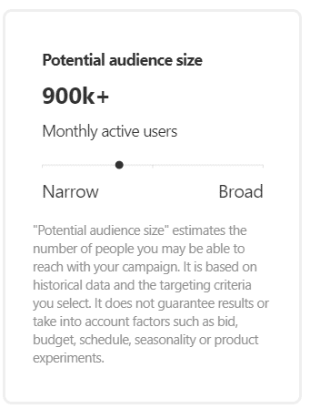 potential audience size pinterest ads ελλάδα greece