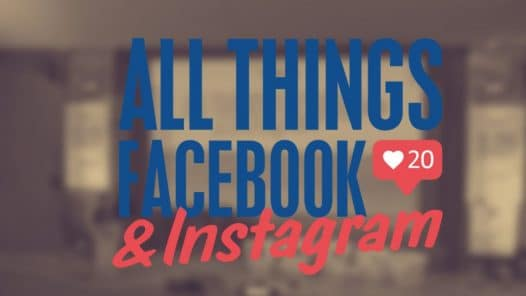 all things facebook instagram