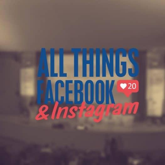 all things facebook instagram